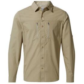 Craghoppers Kiwi Boulder Langærmet T-shirt Herrer, beige